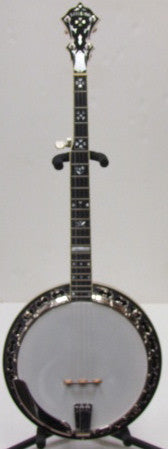Stelling 2005 Master Flower 5-String Resonator Banjo - USED