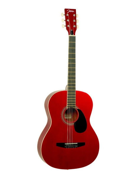 Johnson JG-100-R Red Acoustic Guitar