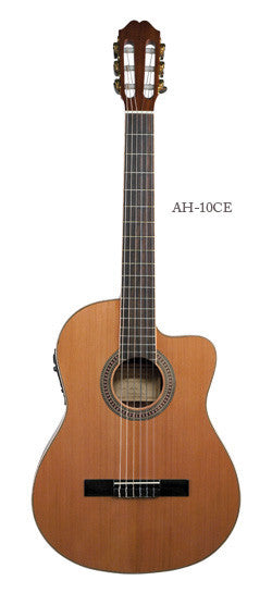 Antonio Hermosa AH-10CE Acoustic-Electric Cutaway Classical Guitar