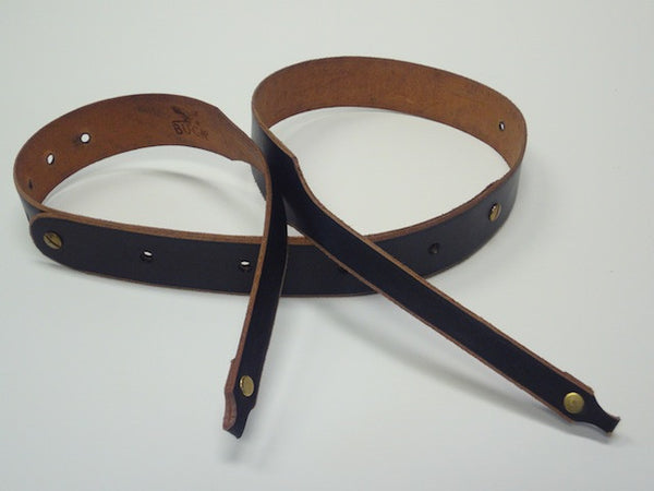 Buck Leather Banjo Strap