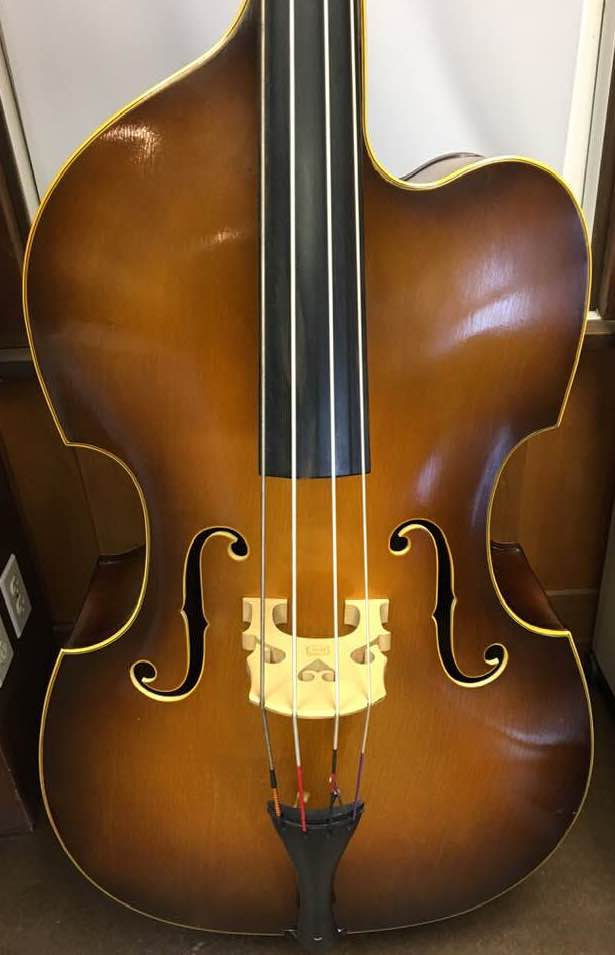 Bass - Ligna, 3/4 Size, Made in Czechoslovakia - USED