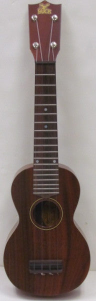 Buck 1980 Soprano Walnut Ukulele - USED
