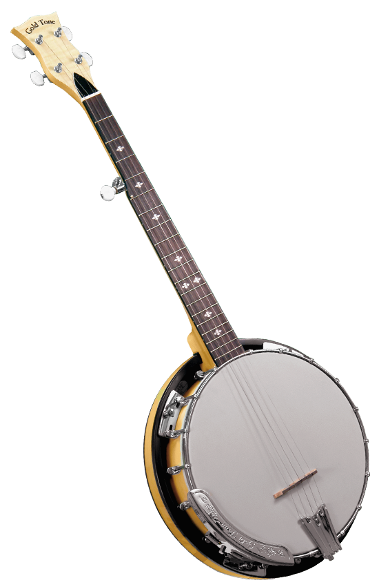 Gold Tone Cripple Creek CC-Traveler Resonator Travel Banjo