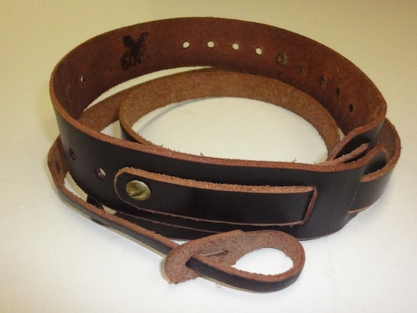 Buck Leather Dobro/Square-Neck Resonator Guitar Strap