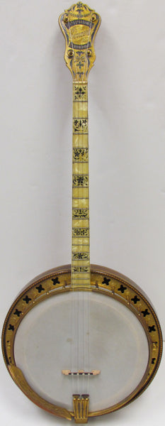 Epiphone circa late 1920s - early 1930s Concert Recording Tenor Resonator Banjo - USED