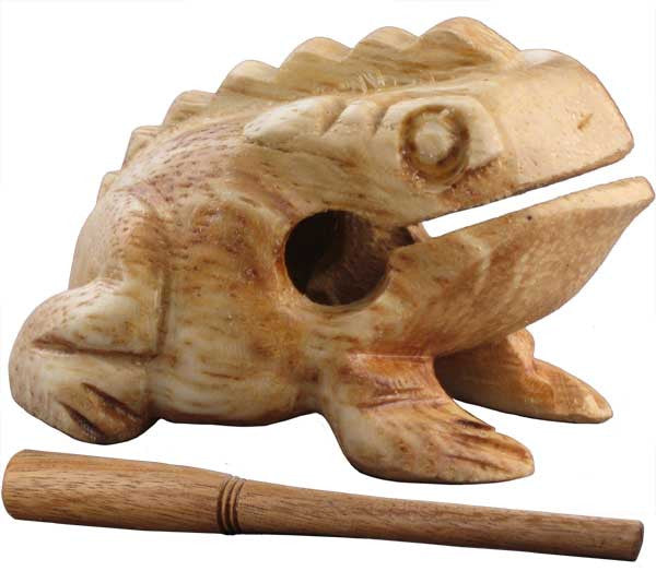 Percussion Frog - 1st Note Wood Percussion Frog