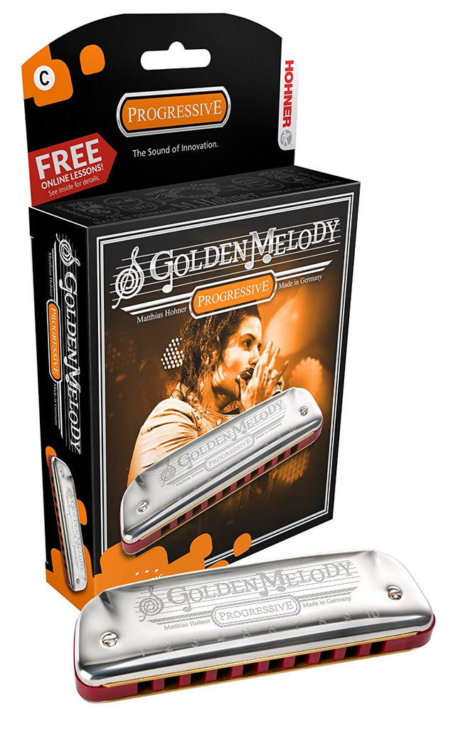 Harmonica - Hohner Golden Melody Diatonic 10-Hole