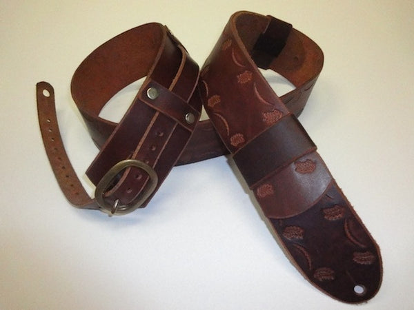 Buck Leather Guitar Strap