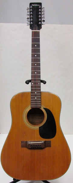 Ventura circa 1960s/1970s V-17 12-String Acoustic Guitar - USED - AS IS - SOLD
