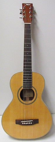 Johnson JG-TR15 Trailblazer Deluxe Acoustic Travel Guitar