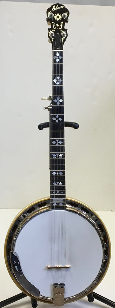 "Liberty ""Masterclone"" 5-String Resonator Banjo w/Huber Tone Ring - USED"