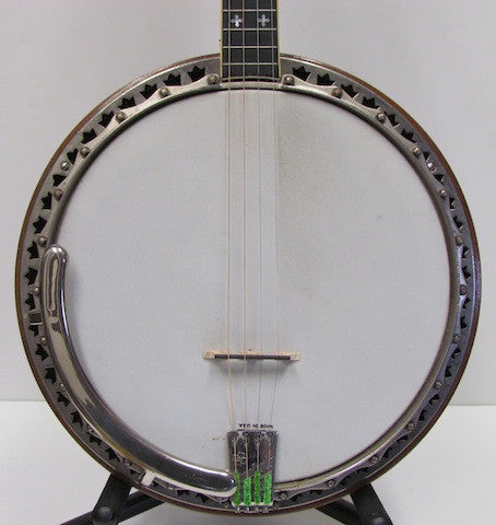 Ludwig Capital Late '20s - Early '30s Tenor Banjo - USED