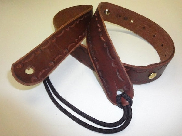 Buck Leather Mandolin Strap