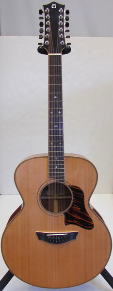 Bil Mitchell Custom Jumbo 12-String Acoustic Guitar - USED