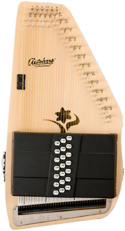 "Oscar Schmidt OS45CE ""The Appalachian"" Acoustic-Electric 21-Chord Autoharp"