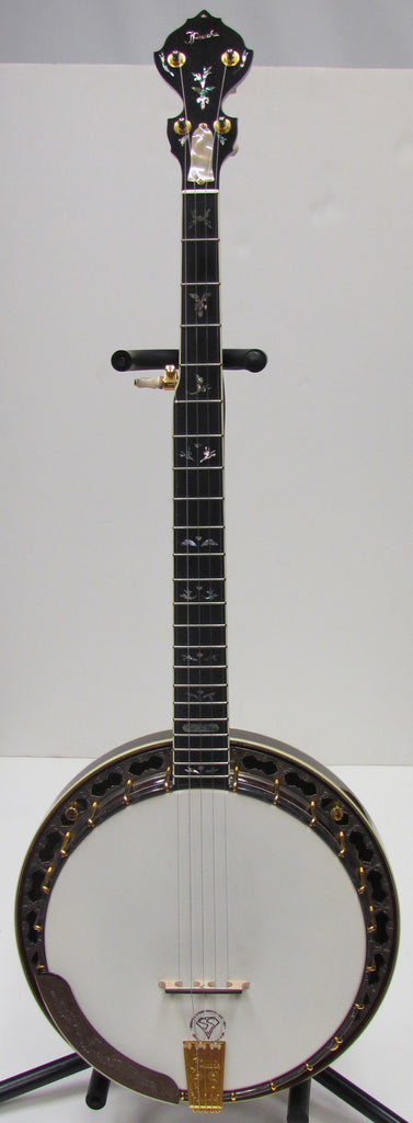 Prucha Circa 2008 Fall In Love Custom Resonator Banjo - USED
