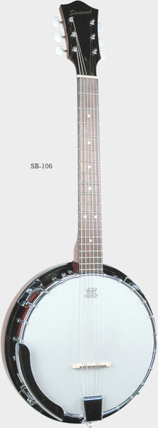 Savannah SB-106 6-String Banjo (Banjo-Guitar)