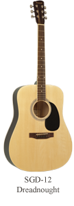 Savannah SGD-12-NA Acoustic Guitar