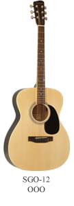 Savannah SGO-12-NA Acoustic Guitar