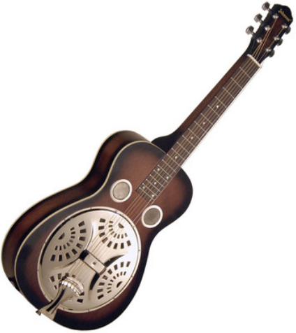 Johnson JR-410-VSS Delta Blues Squareneck Resophonic (Dobro) Guitar