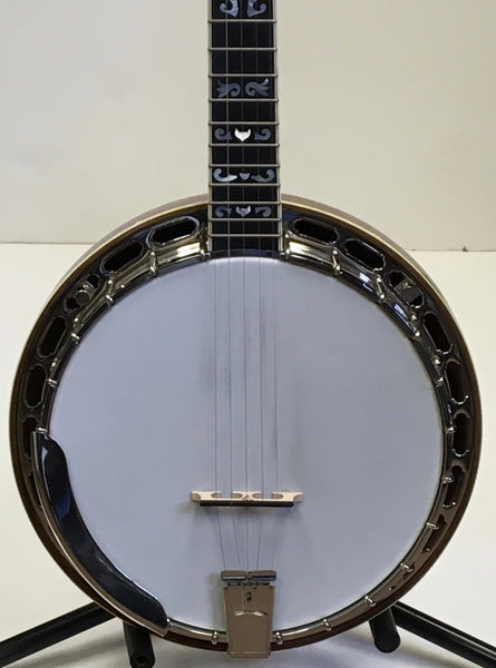 Wildwood Custom 5-String Resonator Banjo w/Huber Tone Ring - USED