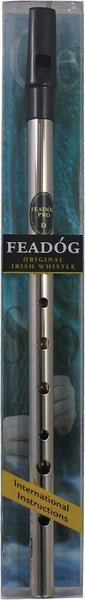 Whistle - Pennywhistle - Feadog Nickel Tin Whistle (Key of D)