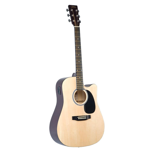 Johnson JG-610-CE-NA Acoustic-Electric Cutaway Guitar