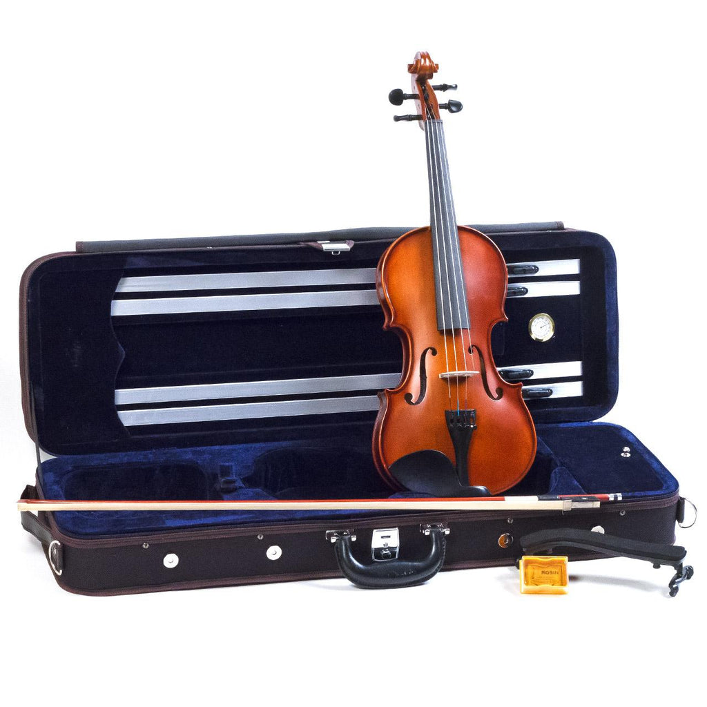 Violin - 4/4 Size Palatino VN-650 Genoa Deluxe Outfit (Includes Bow, Shoulder Rest, and Deluxe Case)