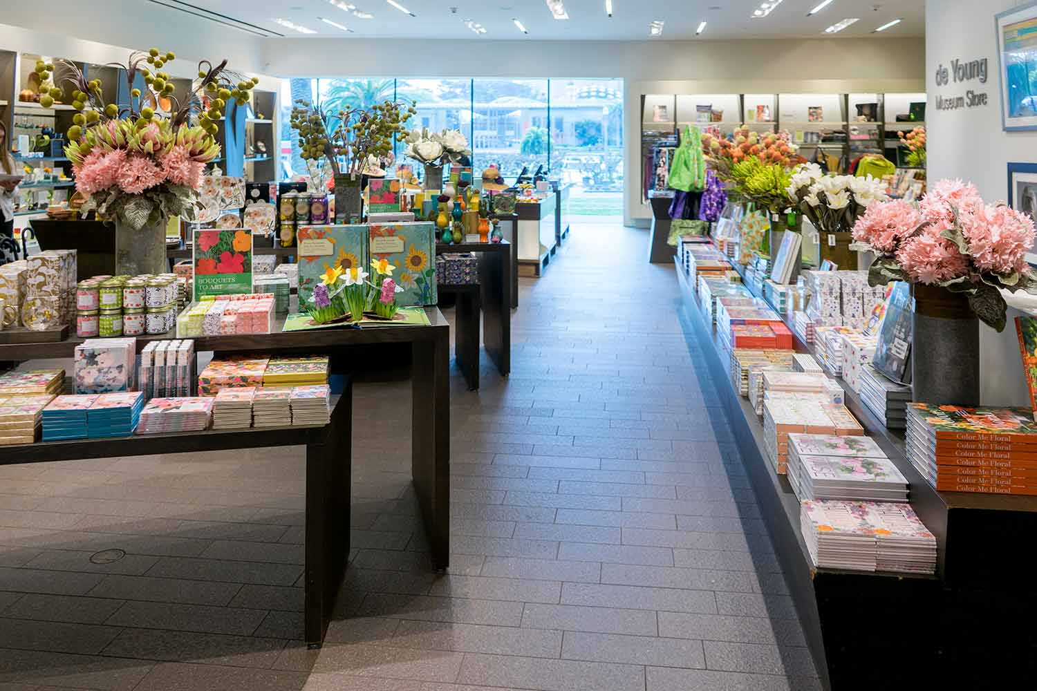 Bouquets to Art at the Museum Store