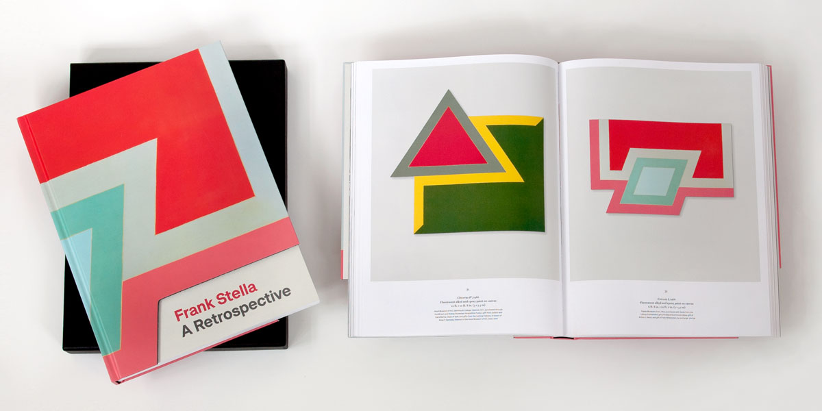 Frank Stella Exhibition Catalogue