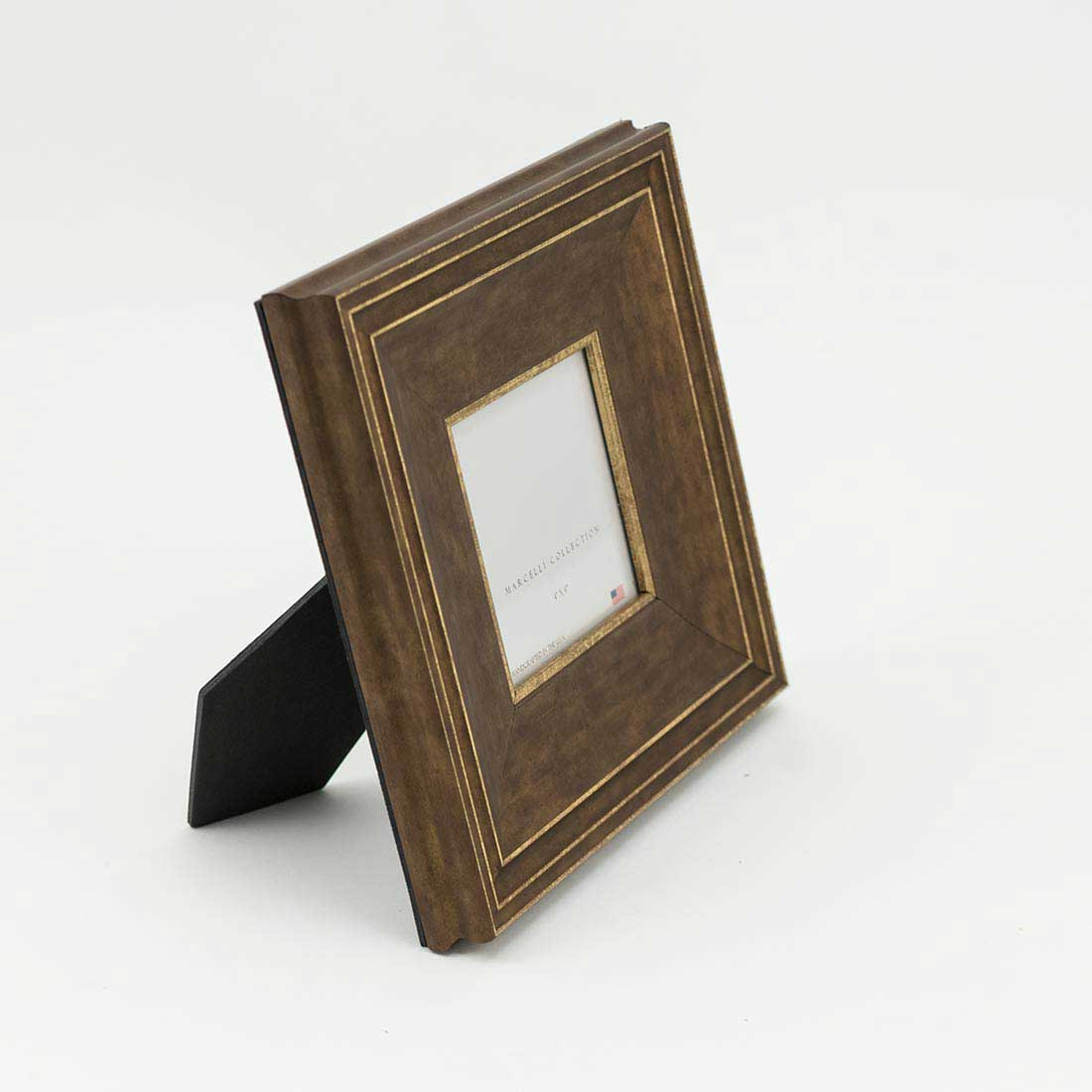 Distressed Gold 4x4 Frame