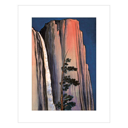 58e10e0696d8 Chiura Obata Evening Glow of Yosemite Print