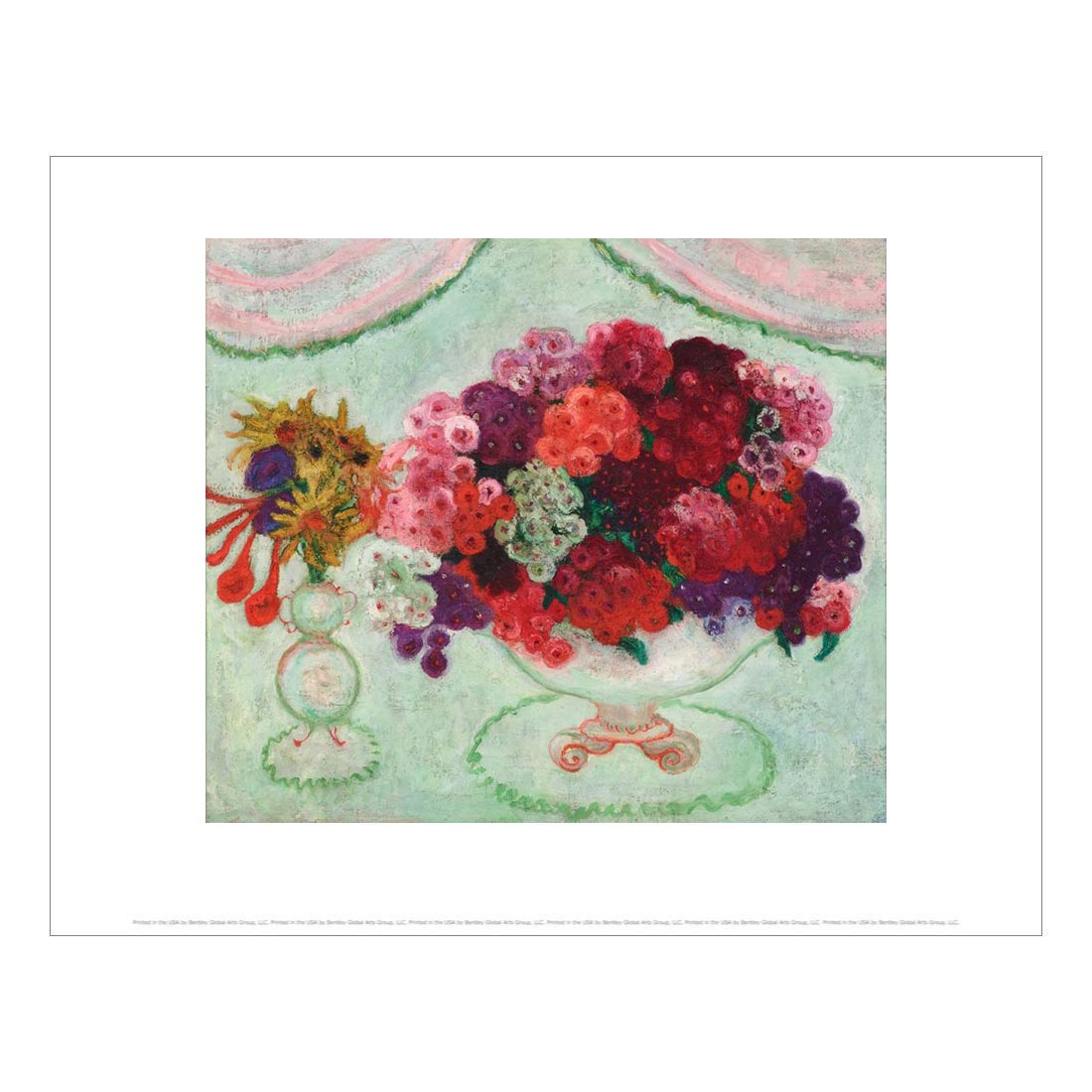 Still life with Flowers Print