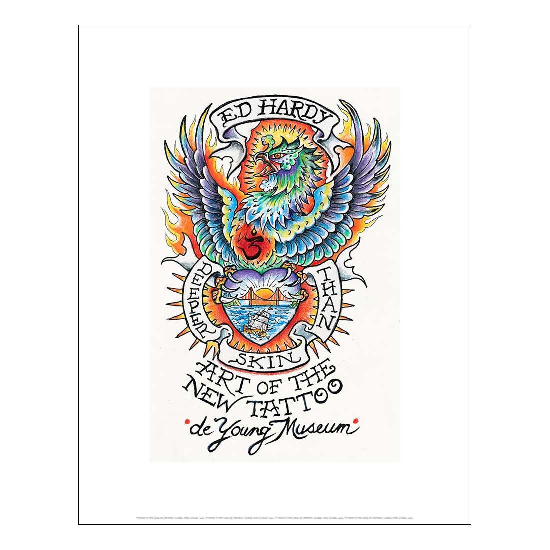 low priced 00a47 84ef5 Ed Hardy Commemorative Print