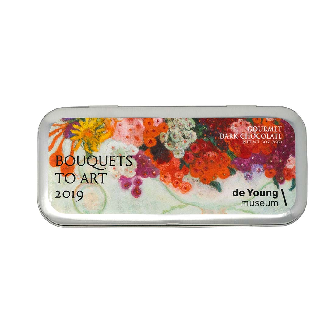Florine Stettheimer Dark Chocolate Tin