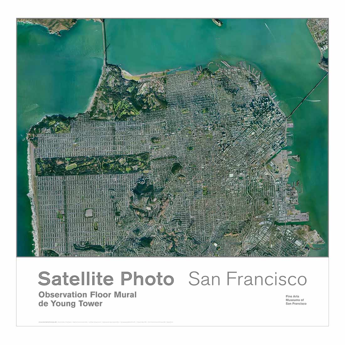 Satellite View of San Francisco Poster on aerial view, see your house street view, route planning software, maps that show property lines, maps get directions, maps showing property lines, google map maker, google voice, bing maps, maps from mexico city, yahoo! maps, maps latitude, google mars, maps google, google latitude, google sky, street level driving view, maps street, maps earth, bing maps platform, manhattan view, nokia maps, dubai street view, google street view, earth view, web mapping, satellite map images with missing or unclear data, google search, maps and directions, google moon, maps weather, journey planner, google earth,