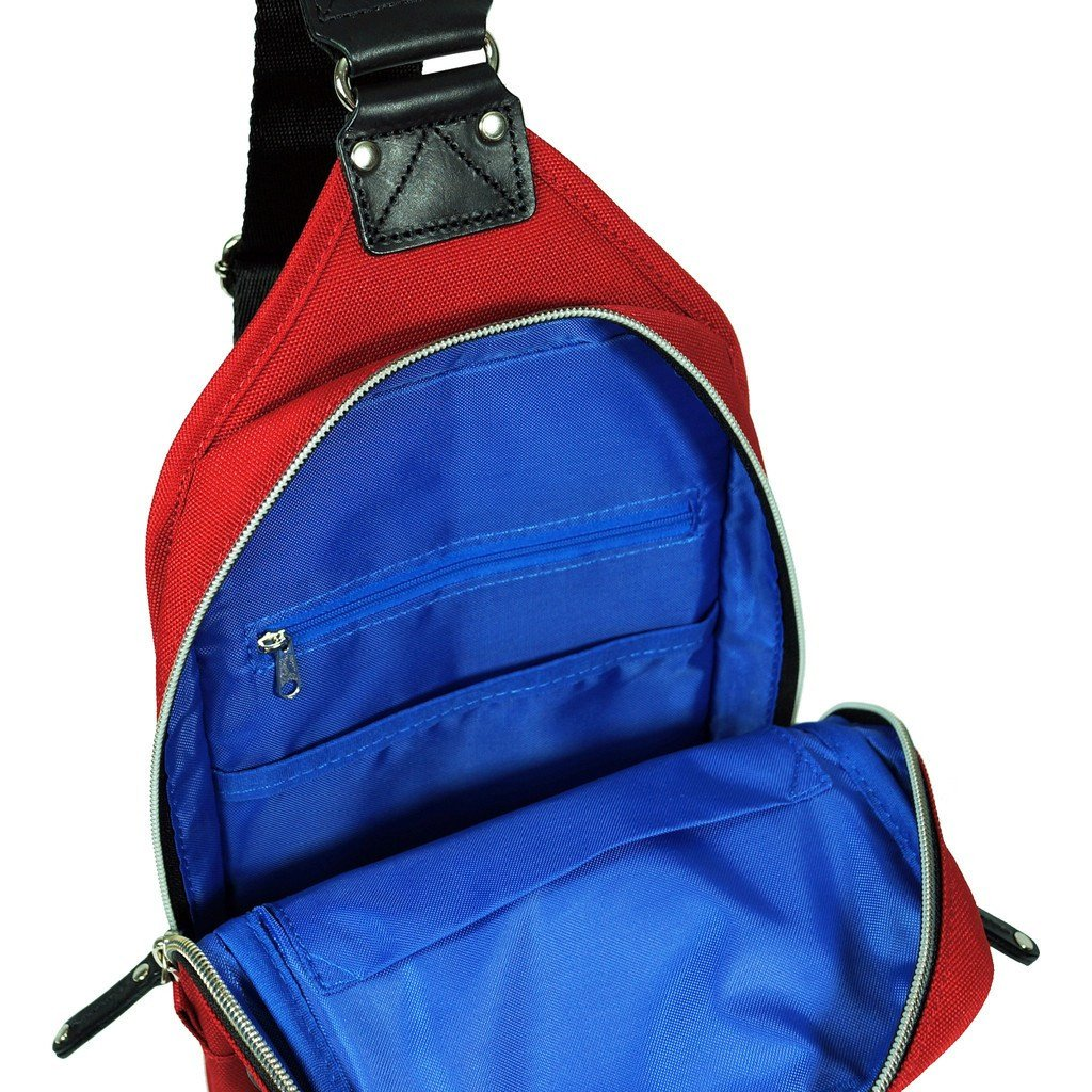 Red Sling Pack
