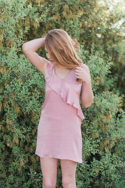 The Ruffle Front Dress