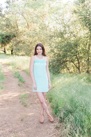 The Ariel Dress with Neckline Detail