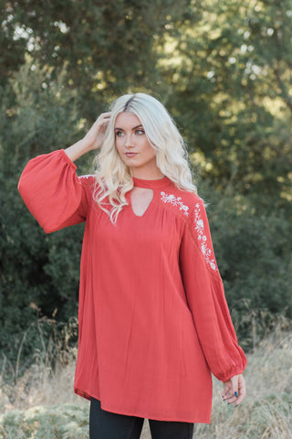 The Jessi Embroidered Tunic