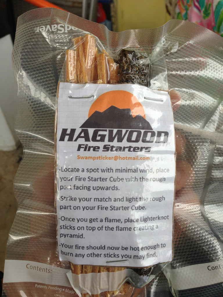 Bibles and barbells review on our first Hagwood Fire Starter