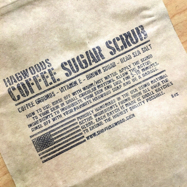 Coffee Sugar scrub - Hagwood