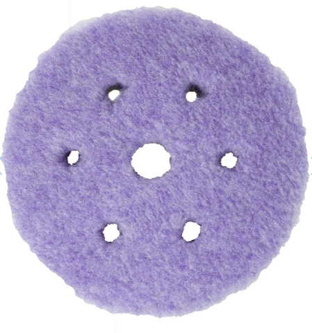 Americana Global - Hybrid Crazy-Cut Foamed Wool Pad (Purple)