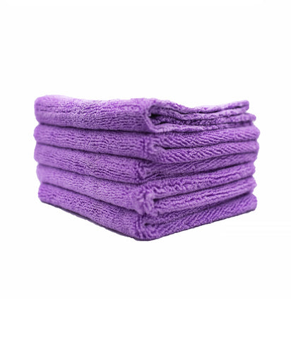 Microfiber Towels (Purple) - 3 Pack