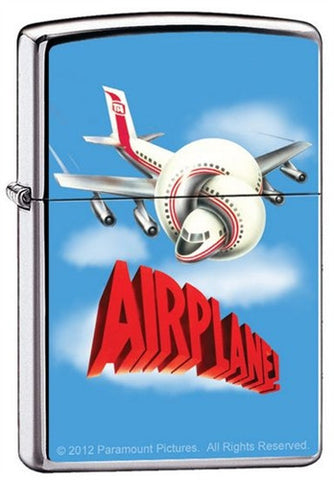 Airplane Movie Licensed Custom Zippo Lighter