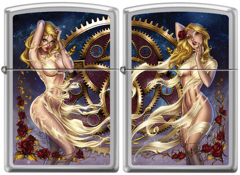 Dawn McTeigue's Southern Nightgown Fantasy Zippo Lighter Set
