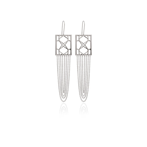 Reverie Smooth Triangle Earrings