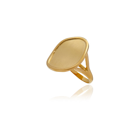 Reverie Gold Smooth Ring
