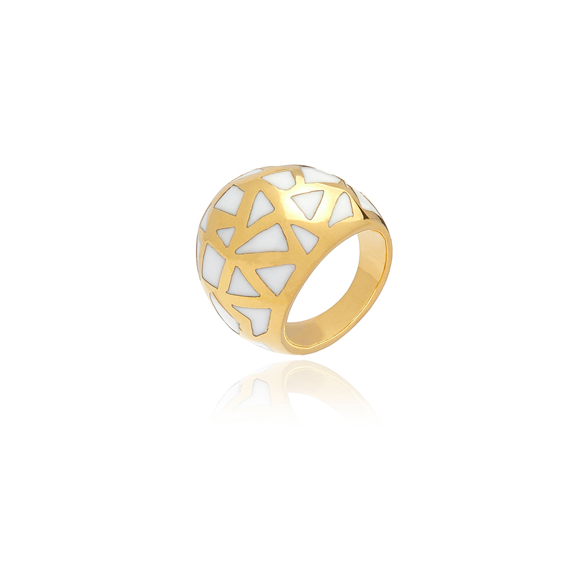 Les Racines Ceramic Ring - Georgina Jewelry