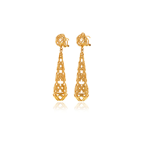 Signature Drop Earrings - Georgina Jewelry